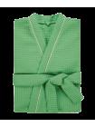 """Халат мужской вафельный """"люкс зеленый"""""""