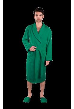 """Халат мужской махровый """"зеленый"""""""