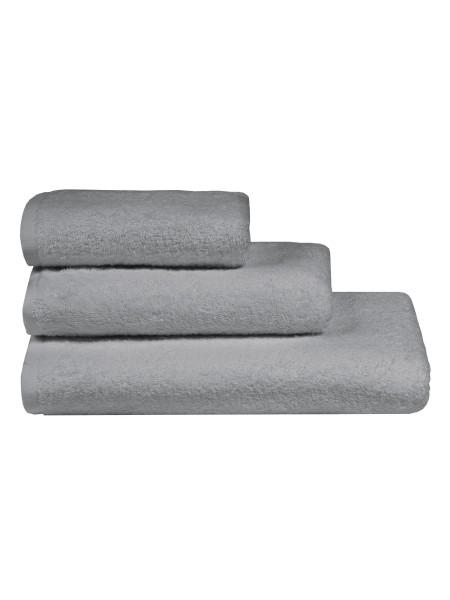 Полотенца махровые г/кр цвет серый 380 г/м2