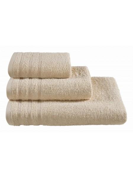 Полотенца махровые г/кр кремовые 440 г/м2